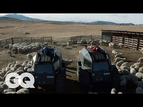 Kanye West On Transforming His Wyoming Ranch Into a Yeezy Campus | GQ