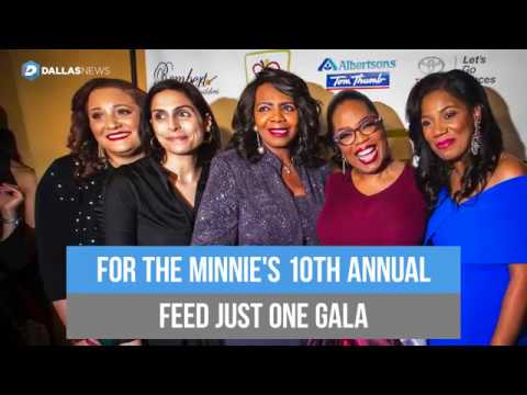 Oprah raises over a million dollars for Minnie's Food Pantry