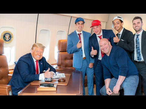 Meeting Donald Trump on Air Force One!
