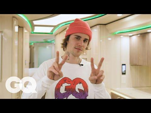 Inside Justin Bieber's Tour Bus | GQ