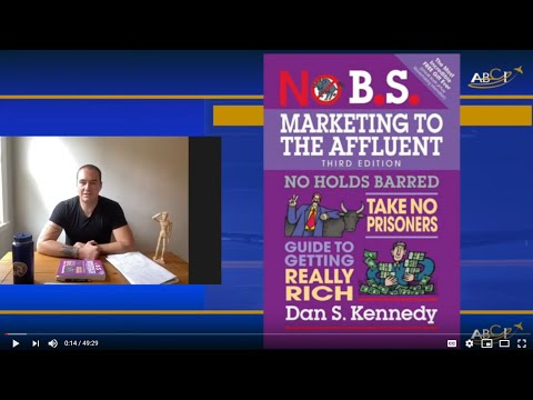 Dan Kennedy's Marketing to the Affluent Book Club Discussion Video