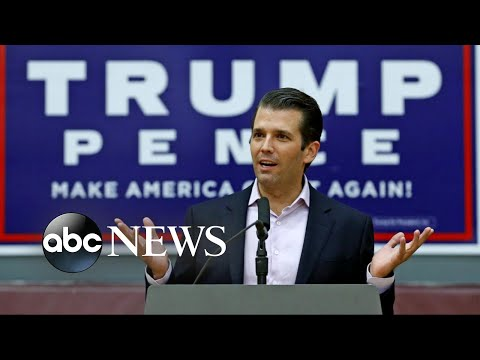 Donald Trump Jr. releases emails about meeting with Russian Lawyer