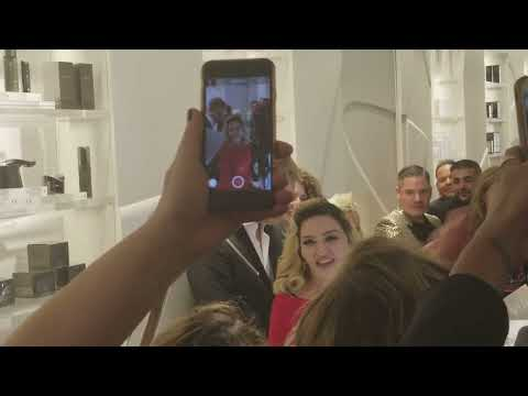 Madonna's MDNY Skincare Launch Party at Barneys New York – We Were There!