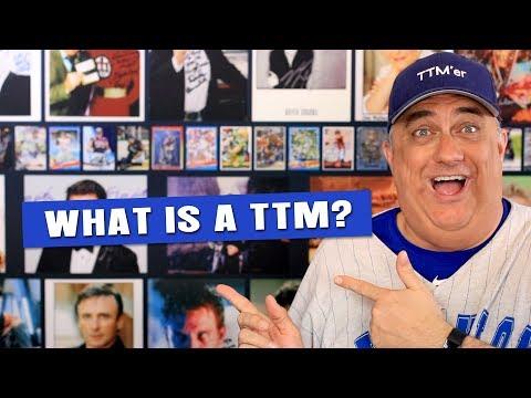 What is a TTM Autograph?