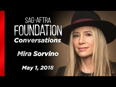 Conversations with Mira Sorvino