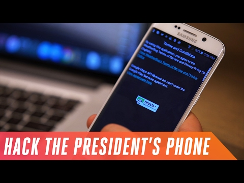 How to hack the president's phone