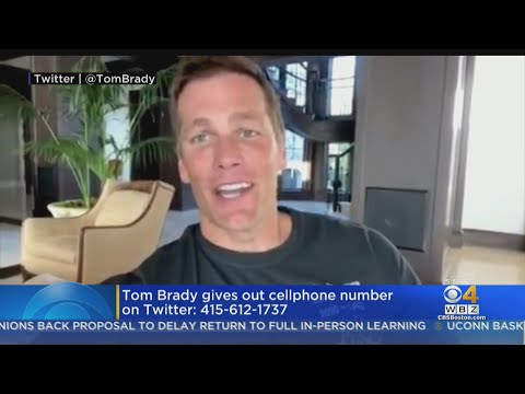 Tom Brady Posts Cell Phone Number Online For Fans To Call Or Text