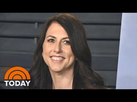 MacKenzie Scott, Wealthy Ex-Wife Of Jeff Bezos, Remarries   TODAY