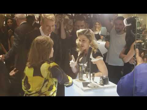 Madonna Meets Fans at Her MDNY Skincare Launch Party at Barneys New York – We Were There!