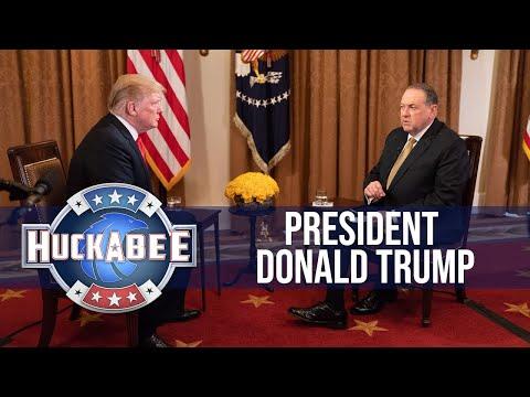 FULL Interview President Trump | Huckabee