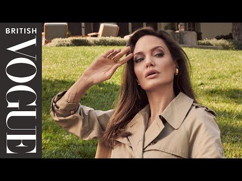 Inside Angelina Jolie's Hollywood Garden | British Vogue