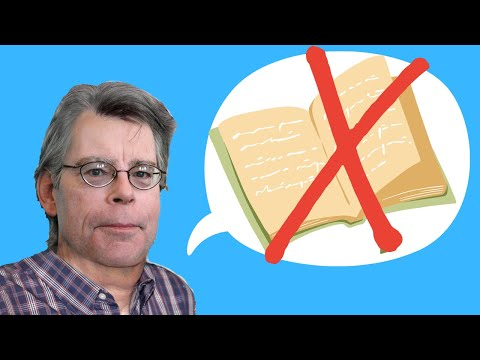 Stephen King On Writing: Creative Writing advice
