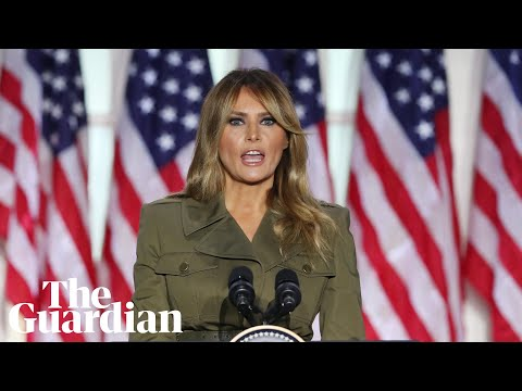 Melania Trump addresses Covid death toll, calls for unity amid racial tensions in RNC speech