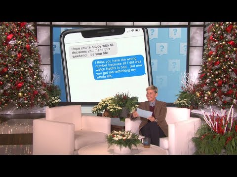 Text Ellen, and She'll Text You Back!