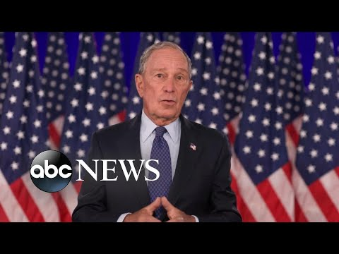 Michael Bloomberg speaks at DNC 2020