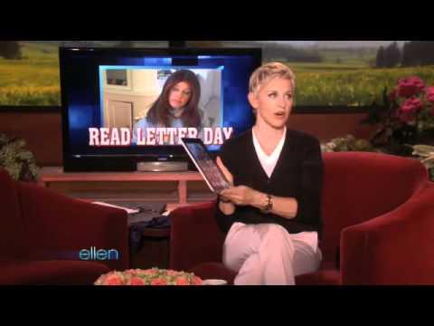 You Write, Ellen Responds!
