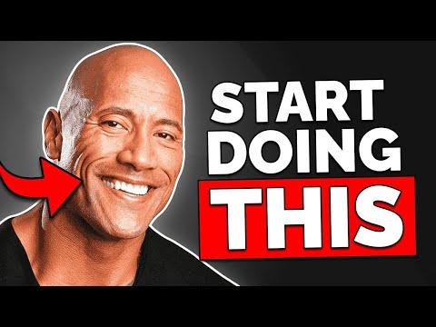 The 5 Charismatic Habits Of The Rock (Dwayne Johnson)