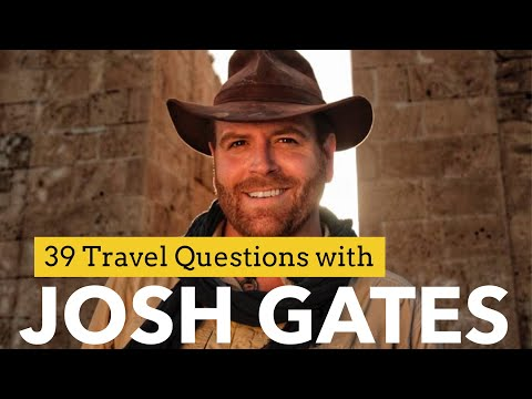 39 Travel Questions with Josh Gates