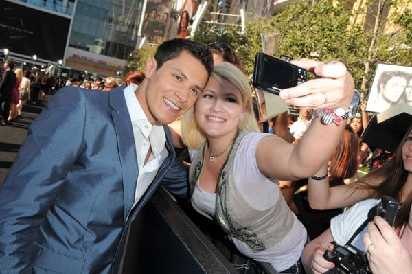 Alex Meraz at 'The Twilight Saga: Eclipse' Premiere