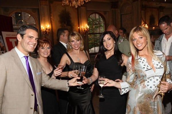 Andy Cohen, Carolina Manzo, Ramona Singer, Jacqueline Laurita, Dina Manzo