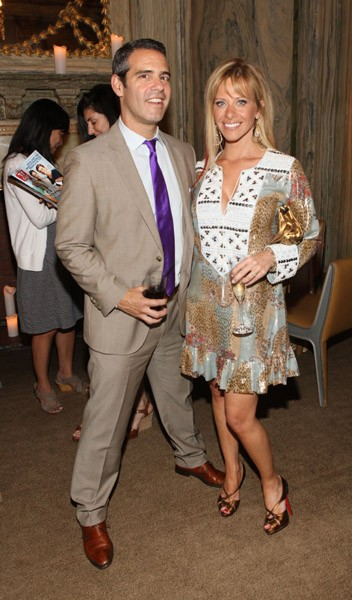 Andy Cohen & Dina Manzo at TV Guide Magazine Party