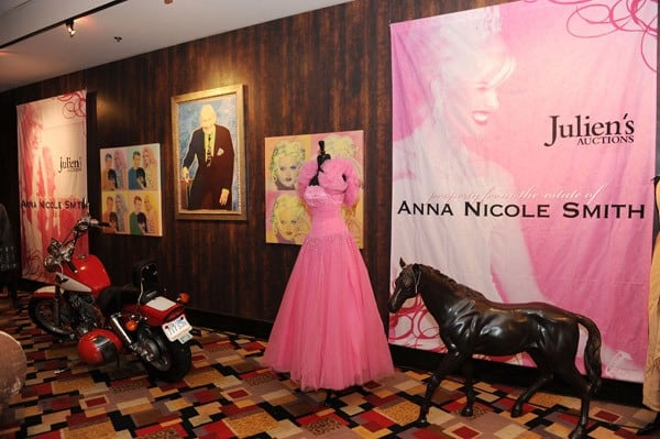 Anna Nicole Smith Items on Exhibit at Julien's Auctions in Las Vegas