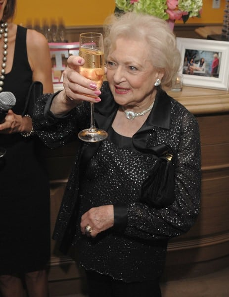 Betty White at the 'Hot in Cleveland' Premiere After Party