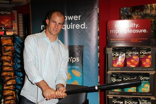 New York Yankees Player Brett Gardner Signs Autographs at Duane Reade