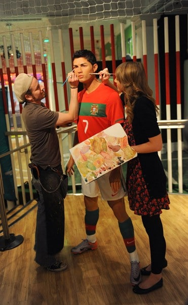 Cristiano Ronaldo at Madame Tussauds Wax Museum