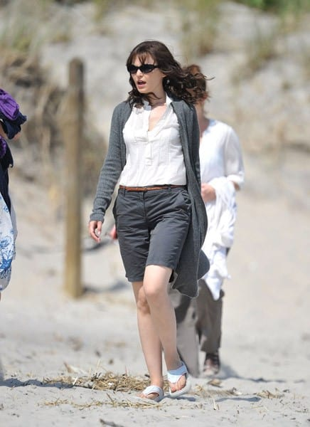 Ginnifer Goodwin On Location For 'Something Borrowed'