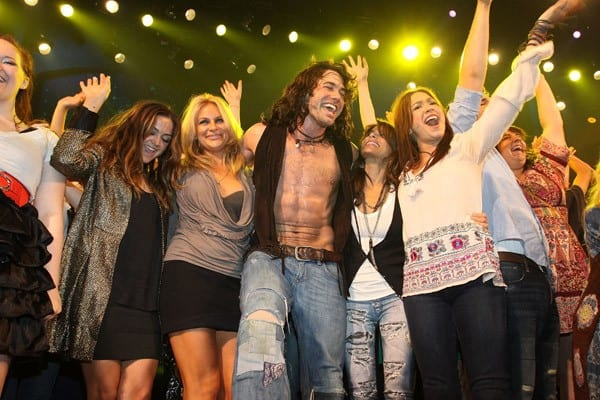 Ace Young, Paula Abdul & Diana DeGarmo at Hair's 500th Performance on Broadway