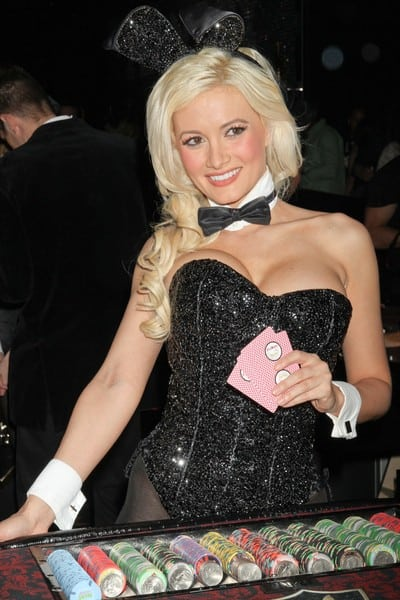 Holly Madison at the Playboy Club at Palms Casino Resort