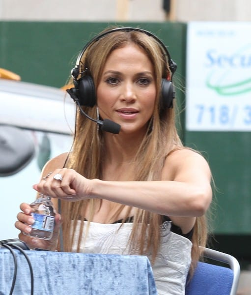 Jennifer Lopez & Marc Anthony at the Puerto Rican Day Parade