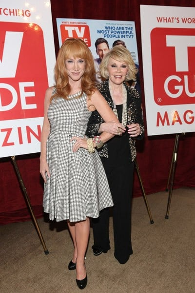 Kathy Griffin & Joan Rivers at TV Guide Magazine Party