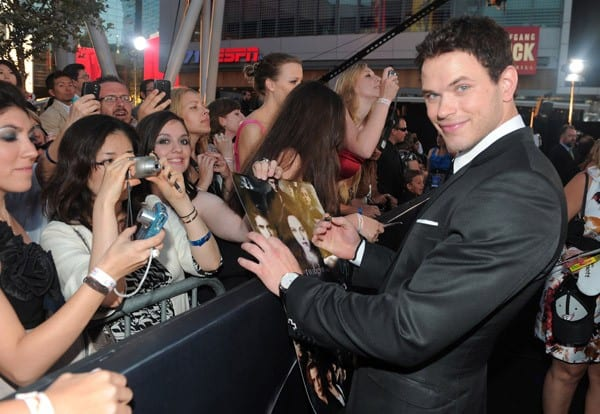 Kellan Lutz at 'The Twilight Saga: Eclipse' Premiere