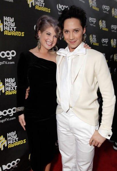 Kelly Osbourne & Johnny Weir at LOGO's NewNowNext Awards