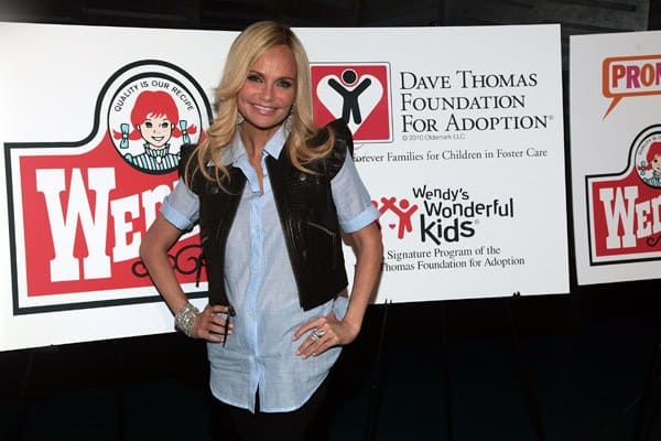 Kristin Chenoweth Supports the Dave Thomas Foundation for Adoption