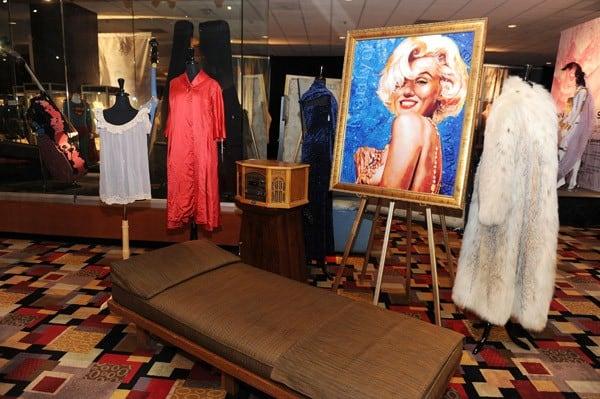 Marilyn Monroe Items on Exhibit at Julien's Auctions in Las Vegas