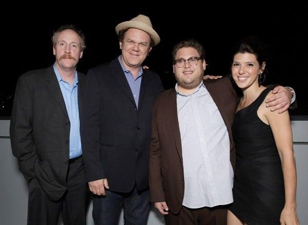Matt Walsh, John C. Reilly, Jonah Hill & Marisa Tomei