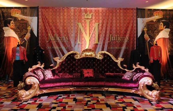 Michael Jackson Items on Exhibit at Julien's Auctions in Las Vegas