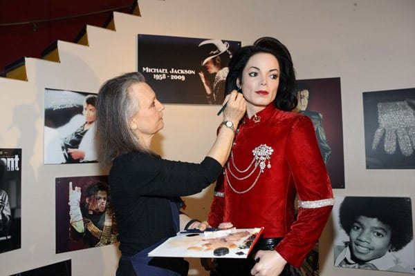 Michael Jackson Tribute Exhibit at Madame Tussauds in New York City