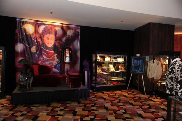 Michael Jackson Items on Exhibit at Julien's Auctions in Las Vegas