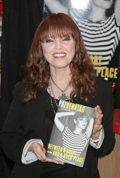Pat Benatar Signs Her New Memoir Contact Any Celebrity border=