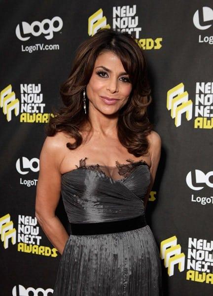 Paula Abdul at LOGO's NewNowNext Awards