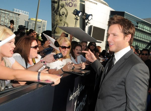 Peter Facinelli at 'The Twilight Saga: Eclipse' Premiere