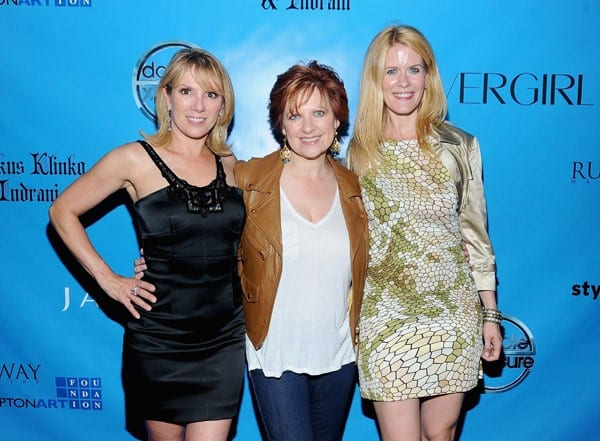 Ramon Singer, Caroline Manzo & Alex McCord at ICONS Exhibition