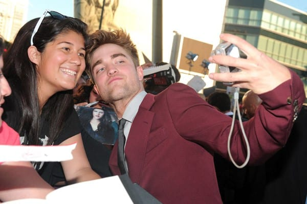 Robert Pattinson at the 'The Twilight Saga: Eclipse' Premiere