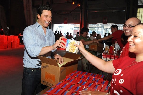 Rocco DiSpirito at Target's Party for Good