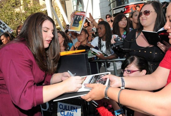 Stephanie Meyer at 'The Twilight Saga: Eclipse' Premiere