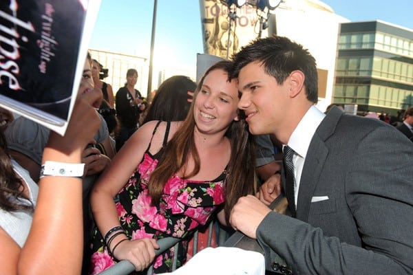 Taylor Lautner at 'The Twilight Saga: Eclipse' Premiere